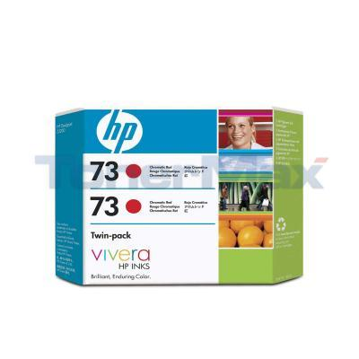 HP NO 73 INK CHROMATIC RED TWIN-PACK